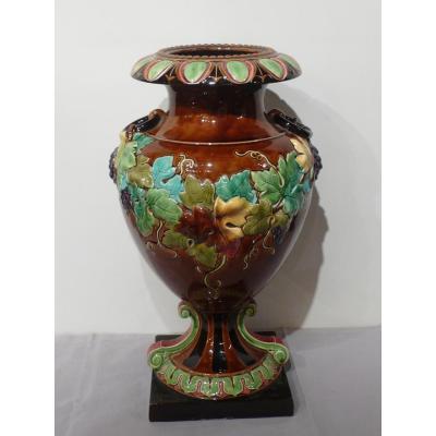 Grand Vase En Faïence Du nord de la france.
