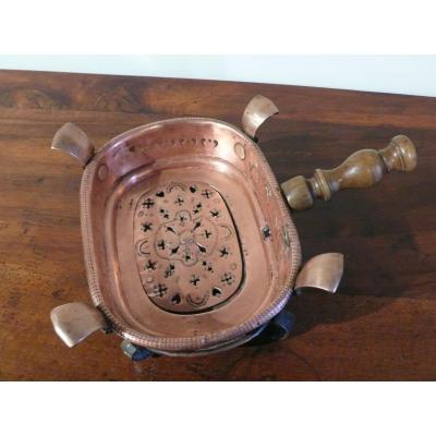 Réchaud de table à braise D'époque XVIIIème Siècle.