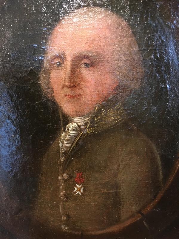 Portrait Of Man Restoration Period - Charles X-photo-2