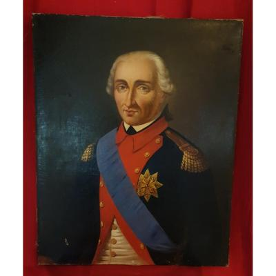 French School Of The XIXth S, Portrait Of Officer