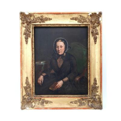 French School Of The XIXth S, Portrait Of Woman