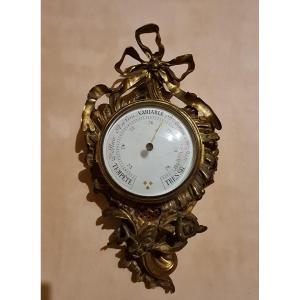 Louis XVI Style Bronze Barometer