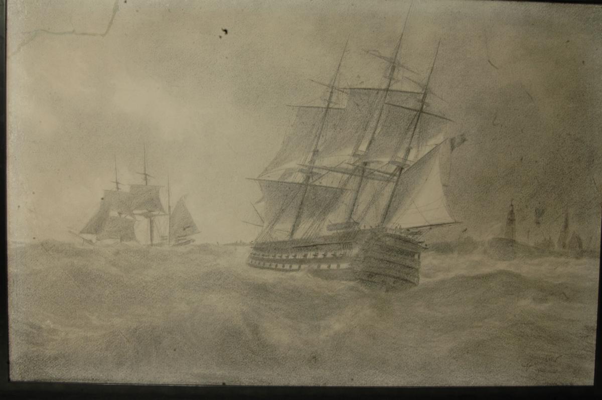Vaisseau en mer:-photo-2