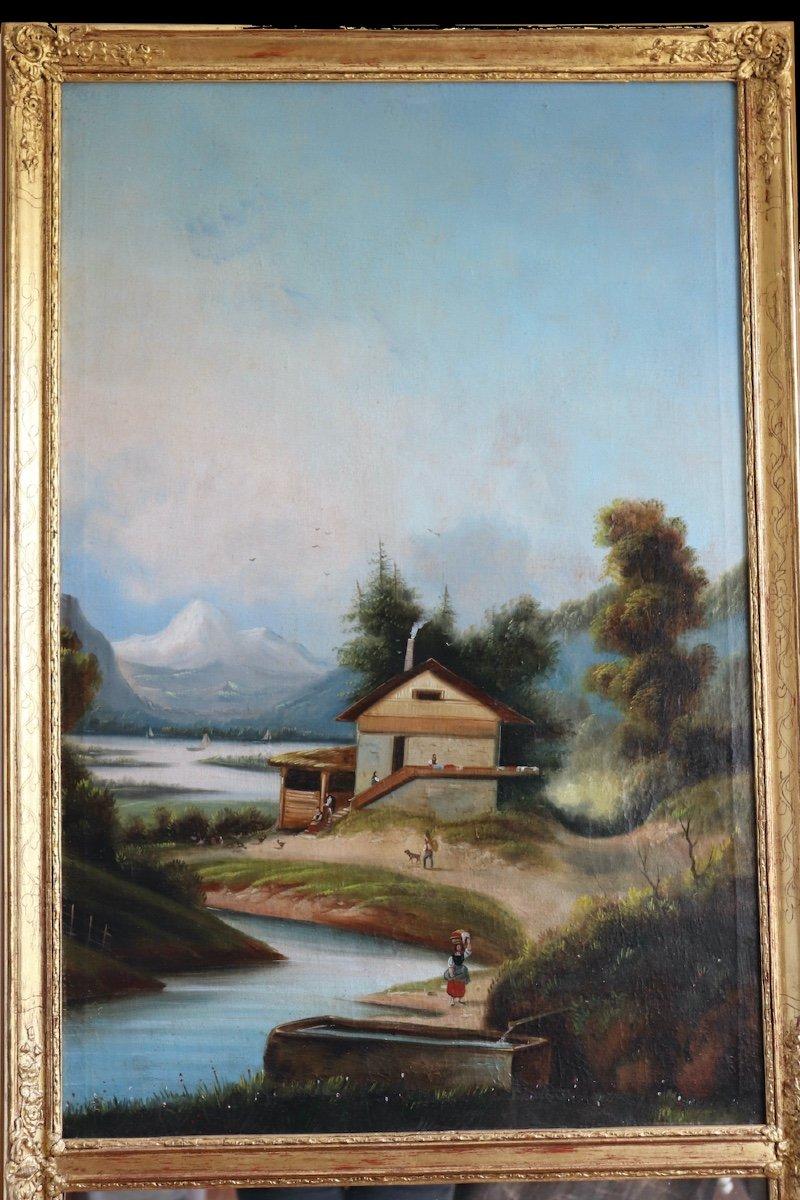 Trumeau du sud-ouest du milieu du XIXe siècle-photo-3