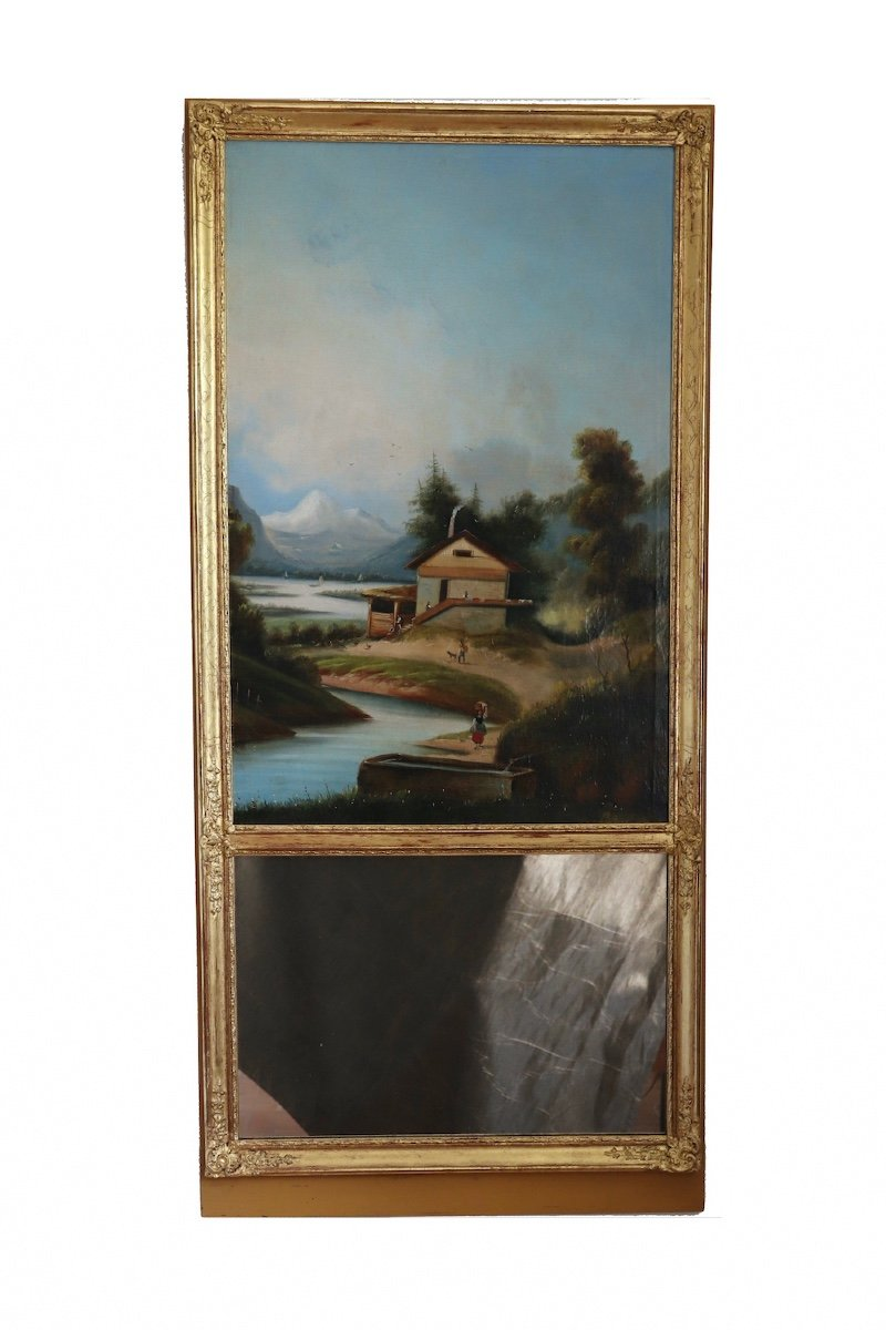 Trumeau du sud-ouest du milieu du XIXe siècle