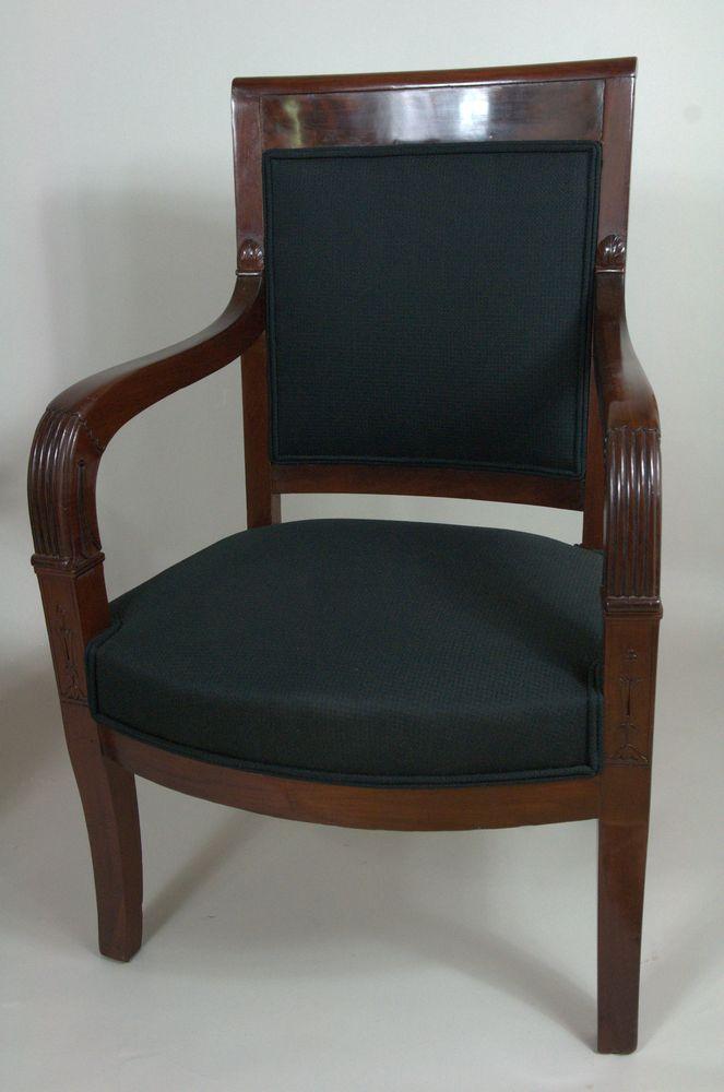 Paire de fauteuils Restauration.