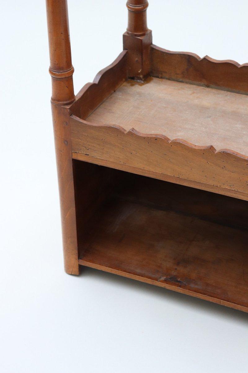 Chevet en Noyer, Fin XVIII° siècle. -photo-2