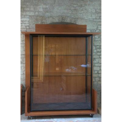 Paire de vitrine vintage des années 70.
