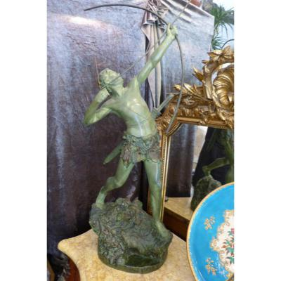 Bronze Art Deco Emile Gregoire
