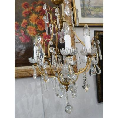 Chandelier Pendants Cristal De Boheme 6 Lights
