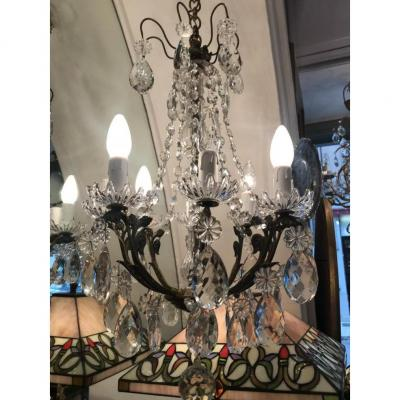 Chandeliers 8 Lights Pampilles Crystal Napoleon III