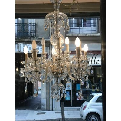 10-light Murano Chandelier