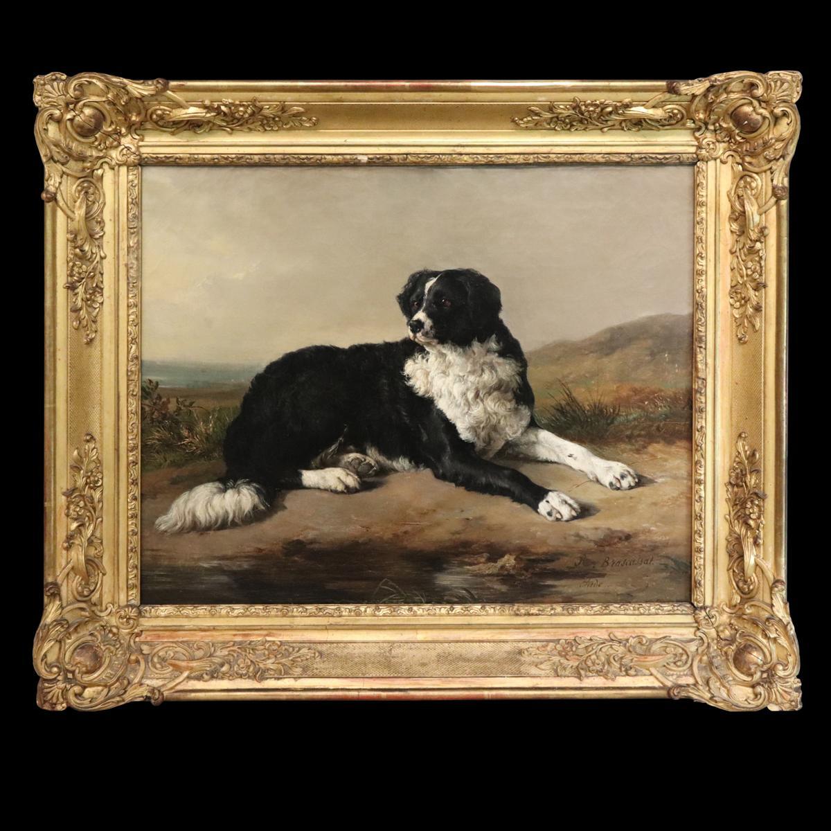 Jacques Brascassat (1804-1867) - Le chien de l'artiste