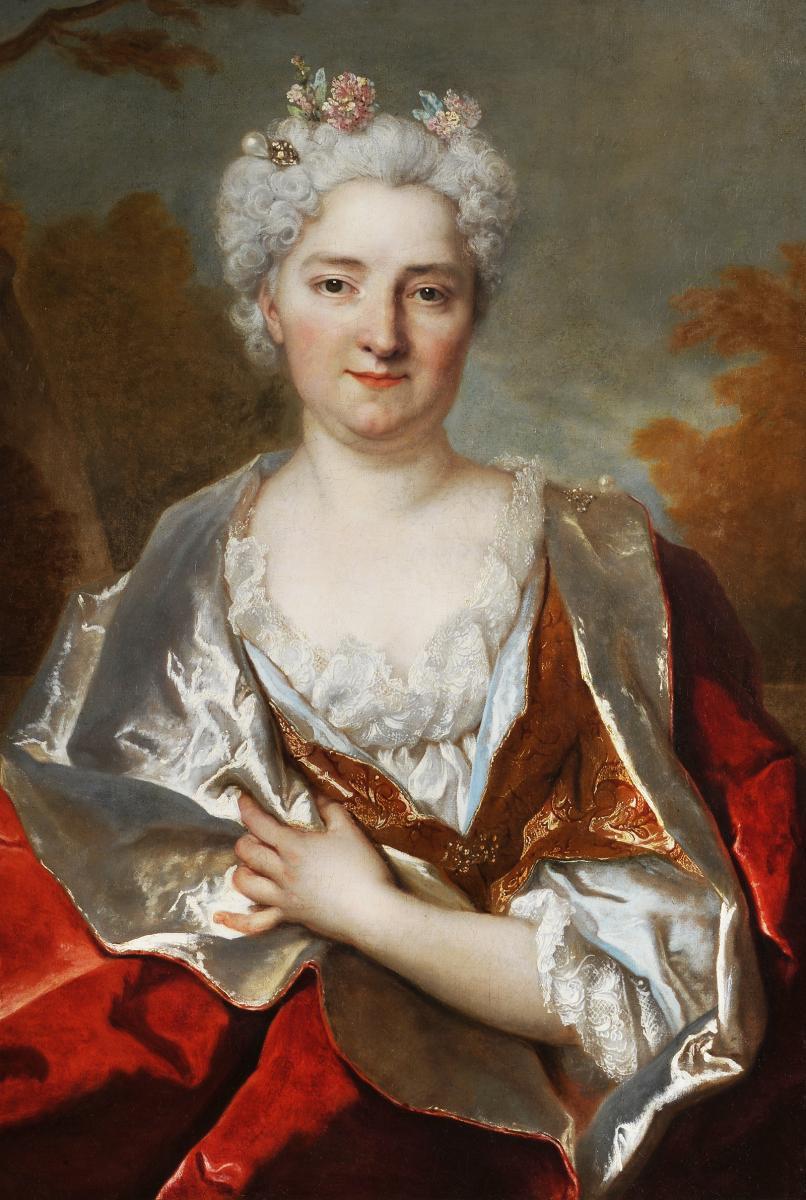 Nicolas de Largillièrre (1656-1746) - Portrait de Mme de Courcelles