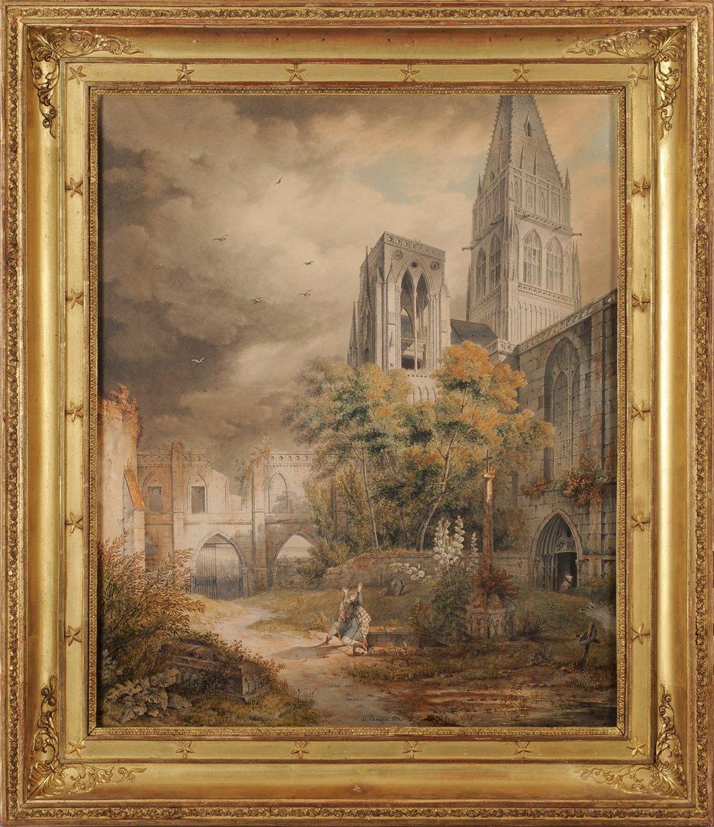 Jean-Jacques Champin (1796-1860) William Wallace remerciant le ciel
