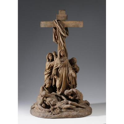 Jean-marie Valentin (1823-1896) - The Descent From The Cross