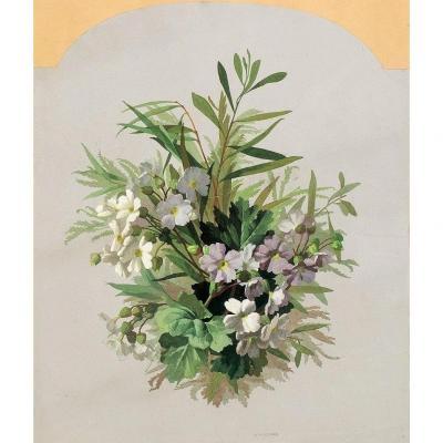 Jean Benner (1836-1906) - Composition florale