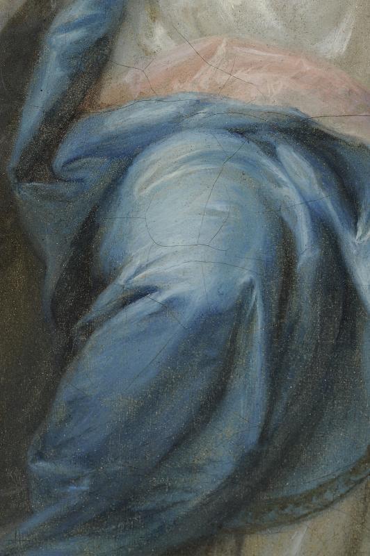 Sainte Martine brisant les Idoles - Ecole du Nord vers 1700-photo-4