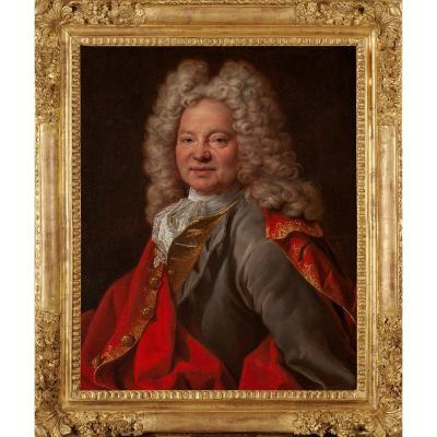 Joseph Vivien, attribué à (1657-1734) Portrait d'homme