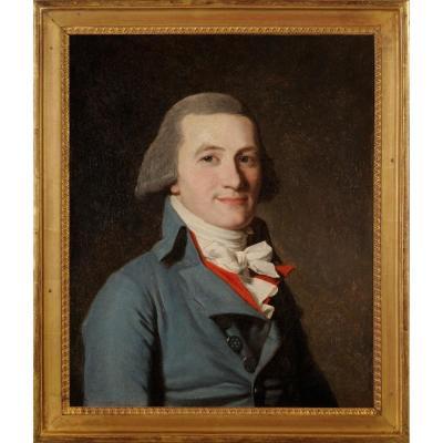 Portrait de conventionnel - Ecole française vers 1792/95