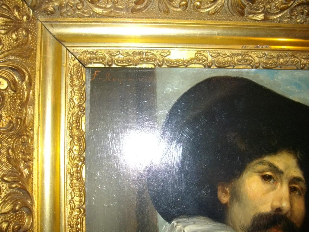 """Tableau """"Portrait de Mousquetaire"""""""