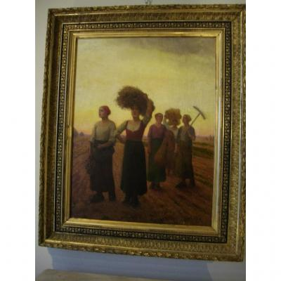 """Painting """"the Harvest"""""""