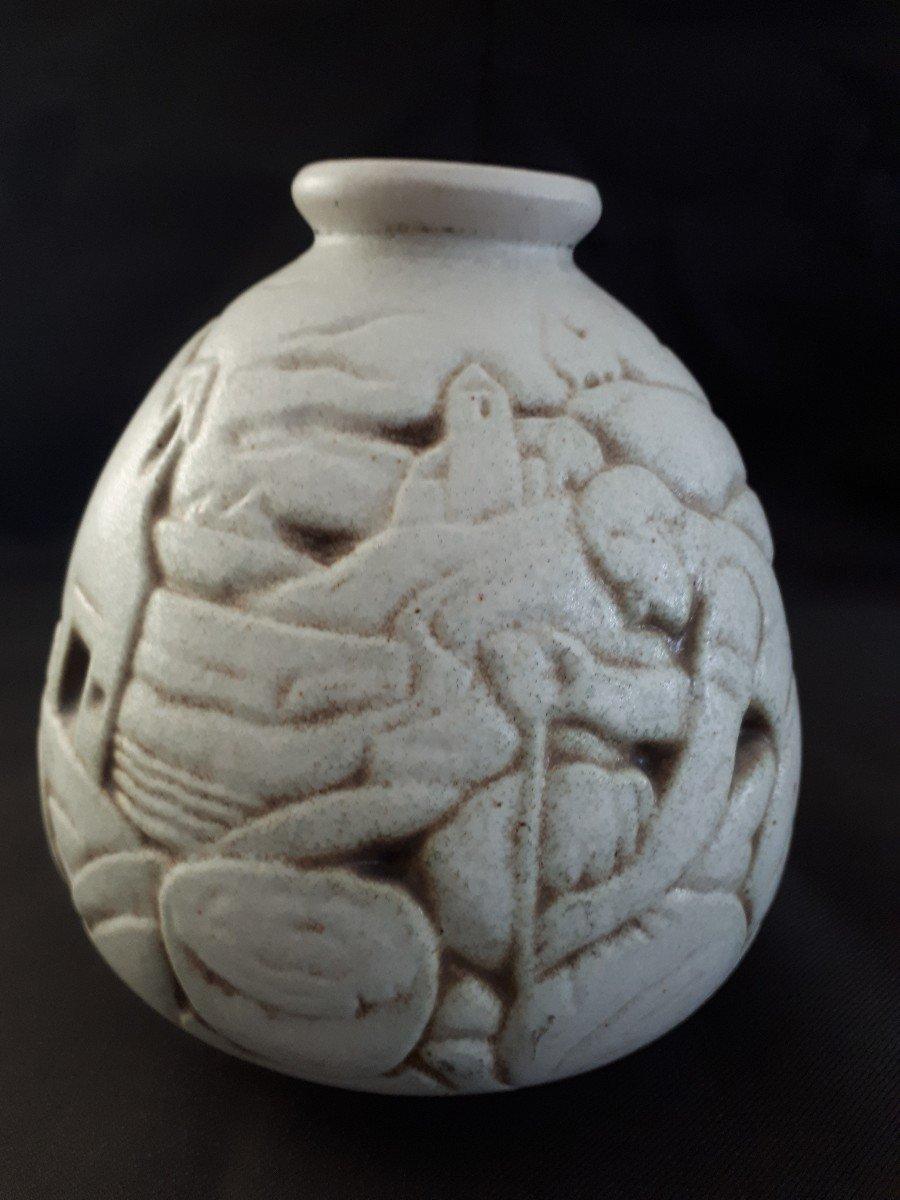 Vase en Grés  JOSEPH Mougin (1876-1961) Art Déco-photo-1