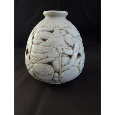 Stoneware Vase Joseph Mougin (1876-1961) Art Deco