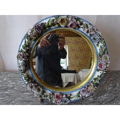 Porcelain Mirror 19thme