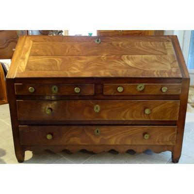 Mahogany Desk Scribanne Commode