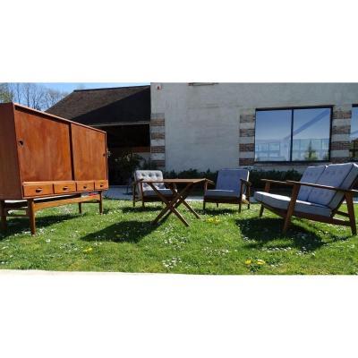 Scandinavian Living Room Set