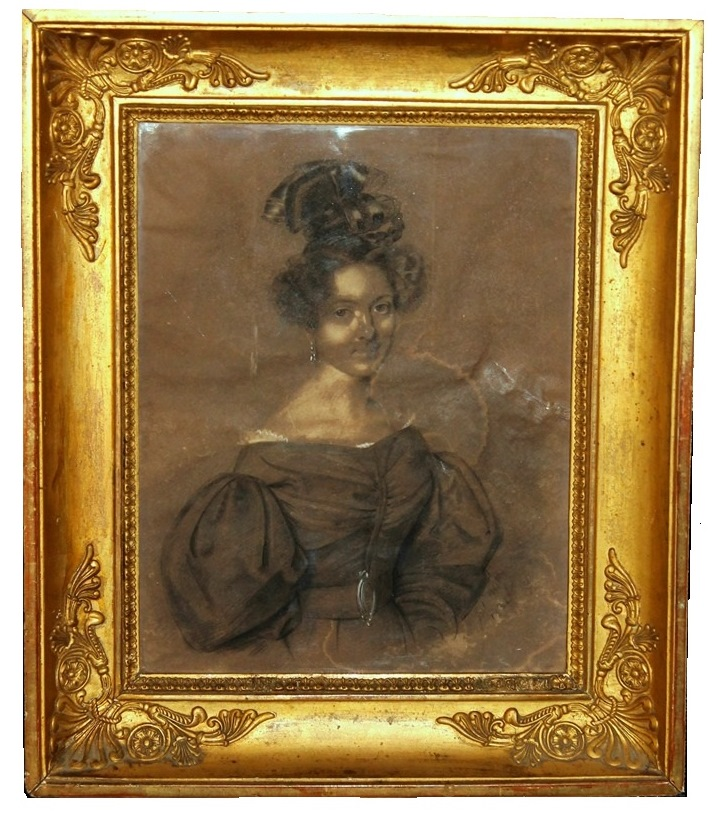 Portrait De Comtesse, Jules Boilly (1796-1874)