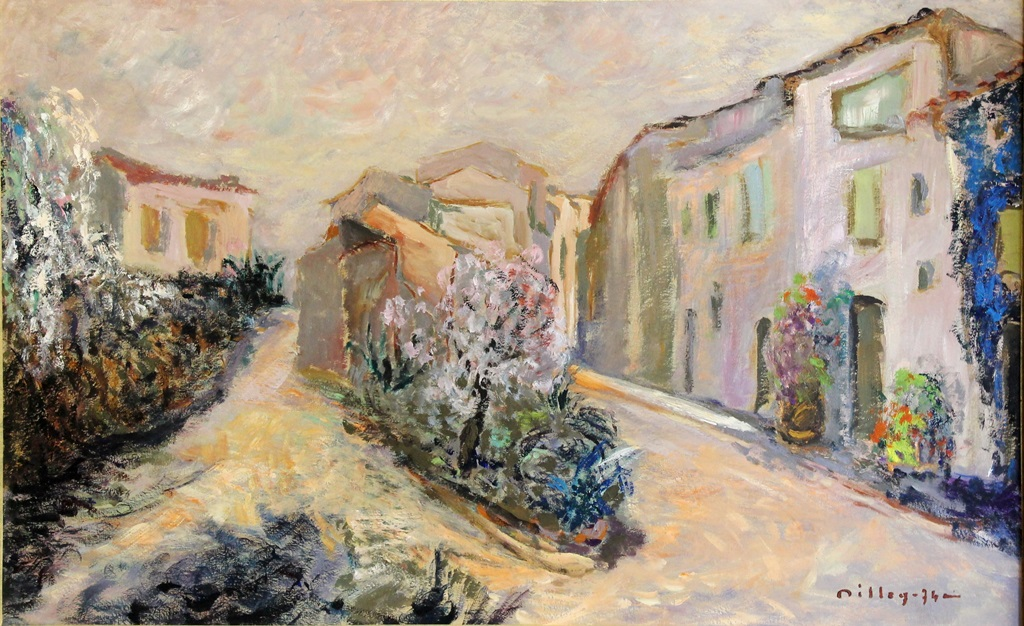 "Ramon Dilley (1932) ""Grimaud Village"""