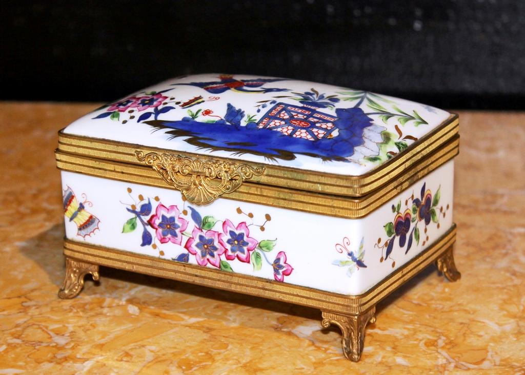 Coffret En Porcelaine De Limoges Par Le Tallec Paris