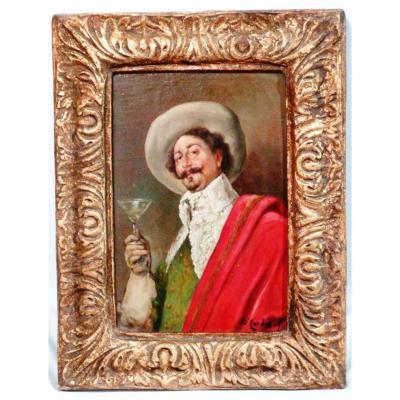 Portrait Gentilhomme, Emile Valentin Cardinal