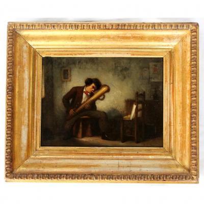 Paire HSP - Henri LE SECQ (1818-1882)
