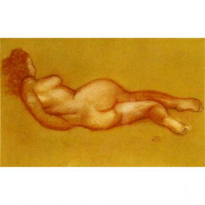 Aristide Maillol (1861-1944) Nude Lying Down