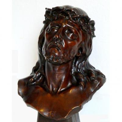 Buste Christ, Galvanoplastie