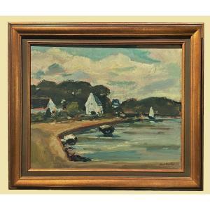 Bord De Mer En Provence, Paul Surtel (1893-1985)