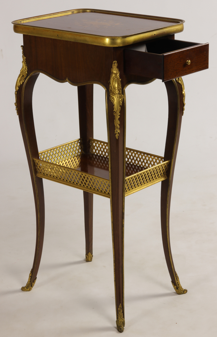 Table Signé Henry Dasson 1894.-photo-3