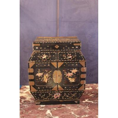 Lacquer Storage Cabinet From China.