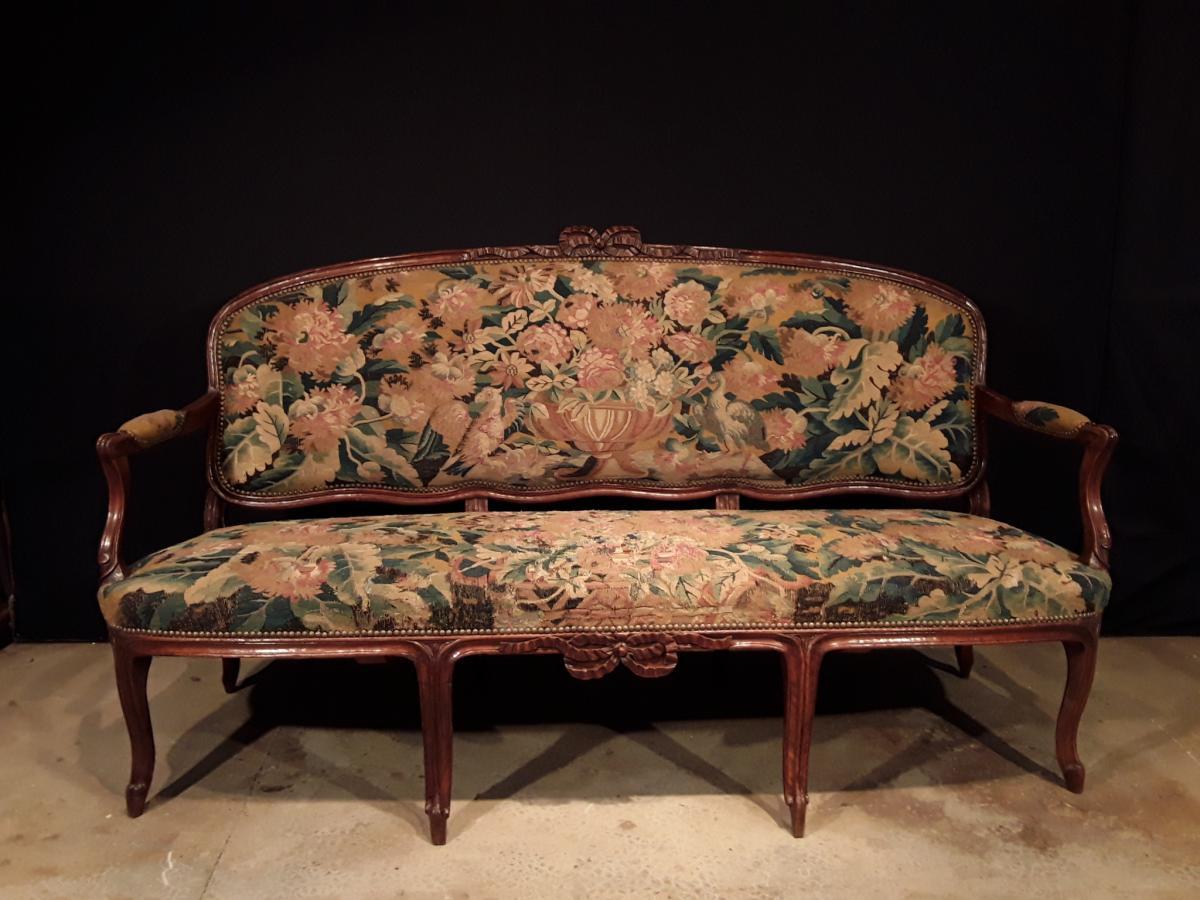 Canapé d'époque XVIII ème.