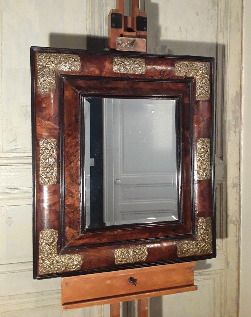 Miroir En Placage d'Olivier.