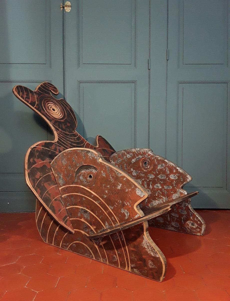 Chair-sculpture. Tanguy Flot.