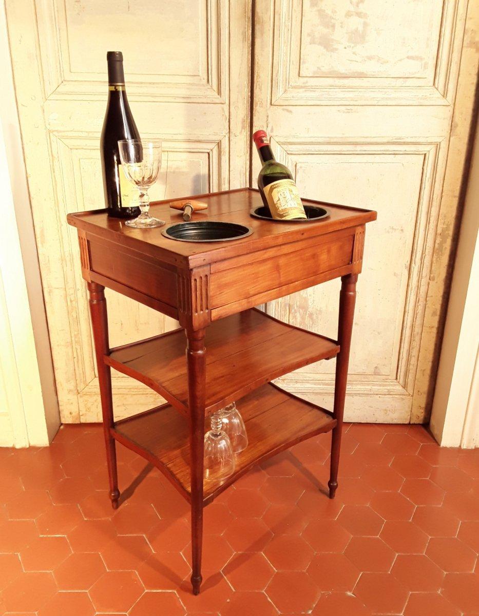 Table Rafraichissoir d'époque Louis XVI.