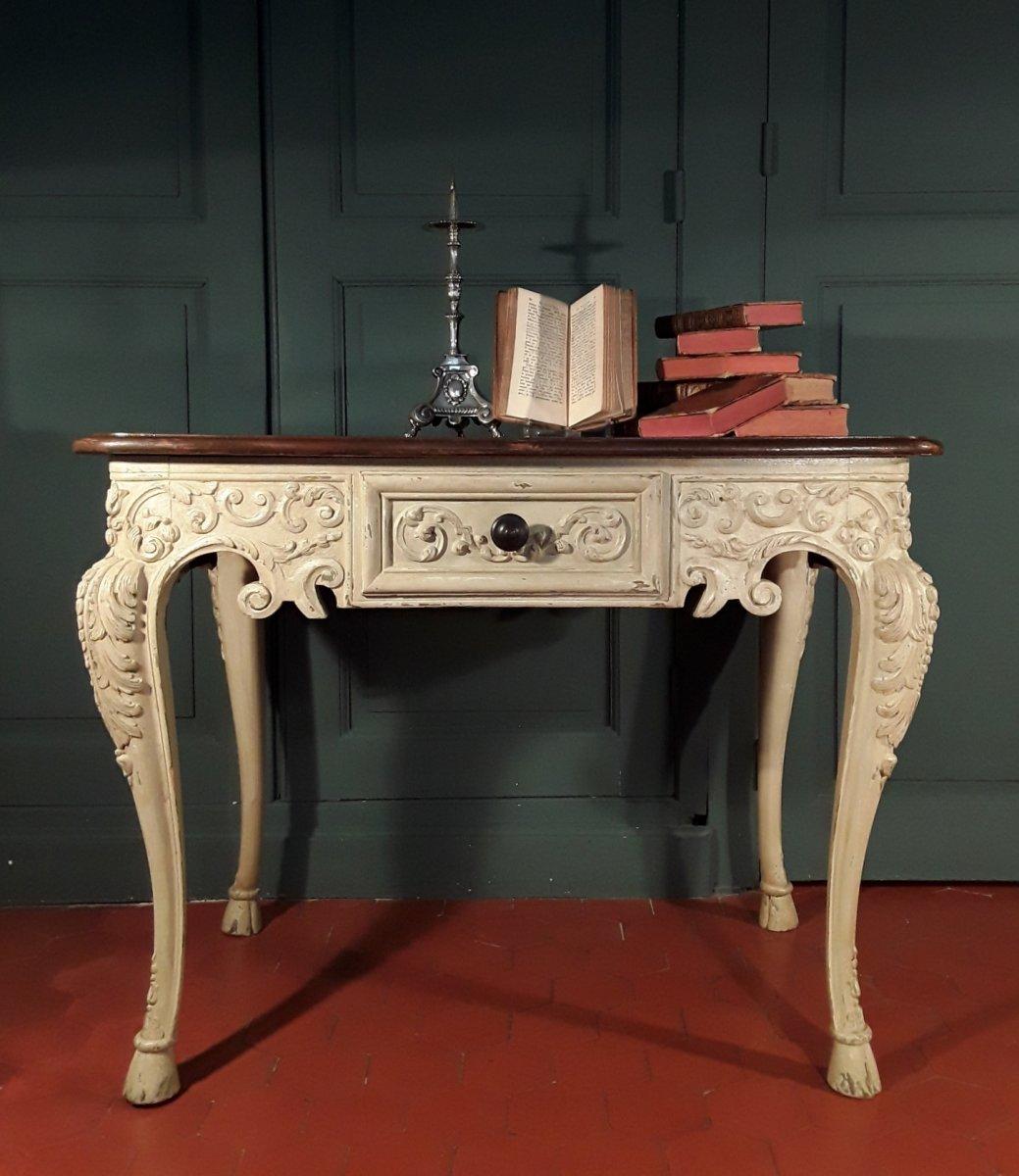Table De Milieu De Style Régence.