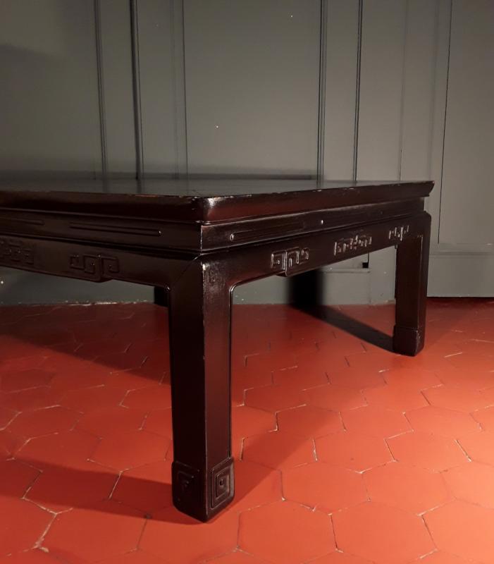 Table Basse Chinoise d'époque XIX ème. -photo-2