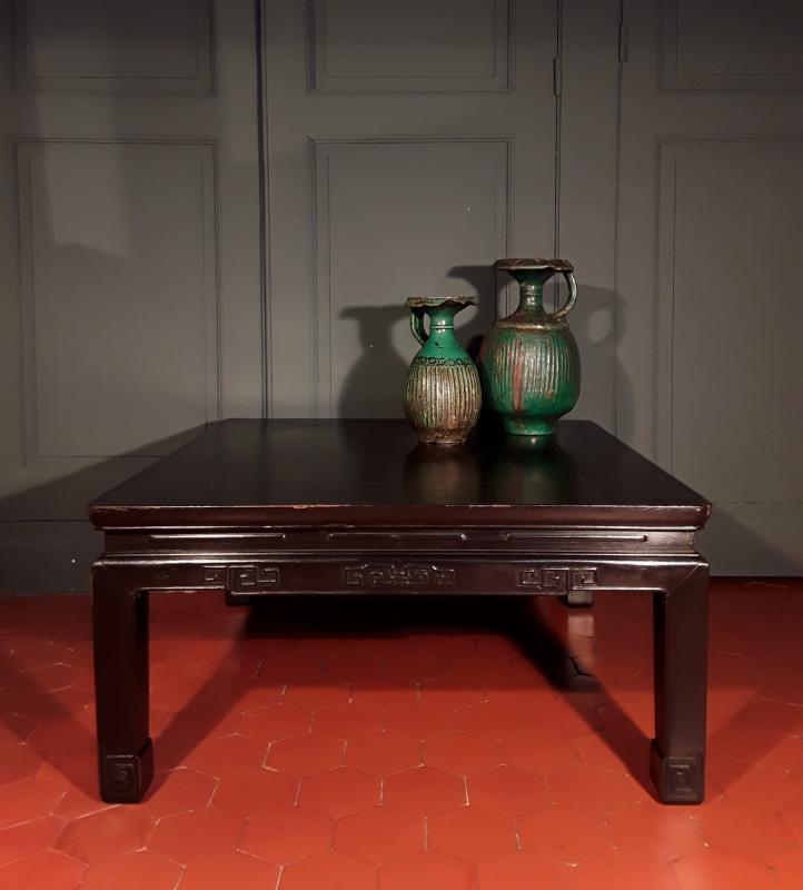Table Basse Chinoise d'époque XIX ème. -photo-3