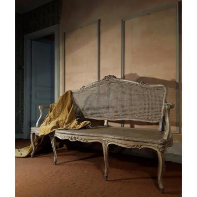 Louis XV Provençal Sofa.