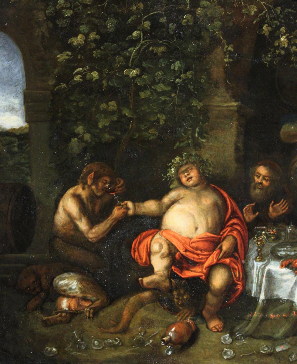 Atelier De Simon De Vos (1603-1676), Allégorie Des Cinq Sens, Anvers, XVIIe